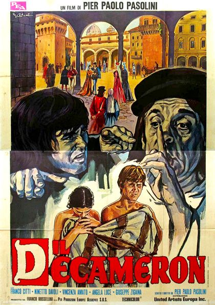 """Il Decameron [The Decameron] -  Pier Paolo Pasolini 1971 - DVD00563 -- """" Based on the tales by Giovanni Boccaccio. Eight tales from plague-ridden 14th century Naples with an erotic bent."""""""