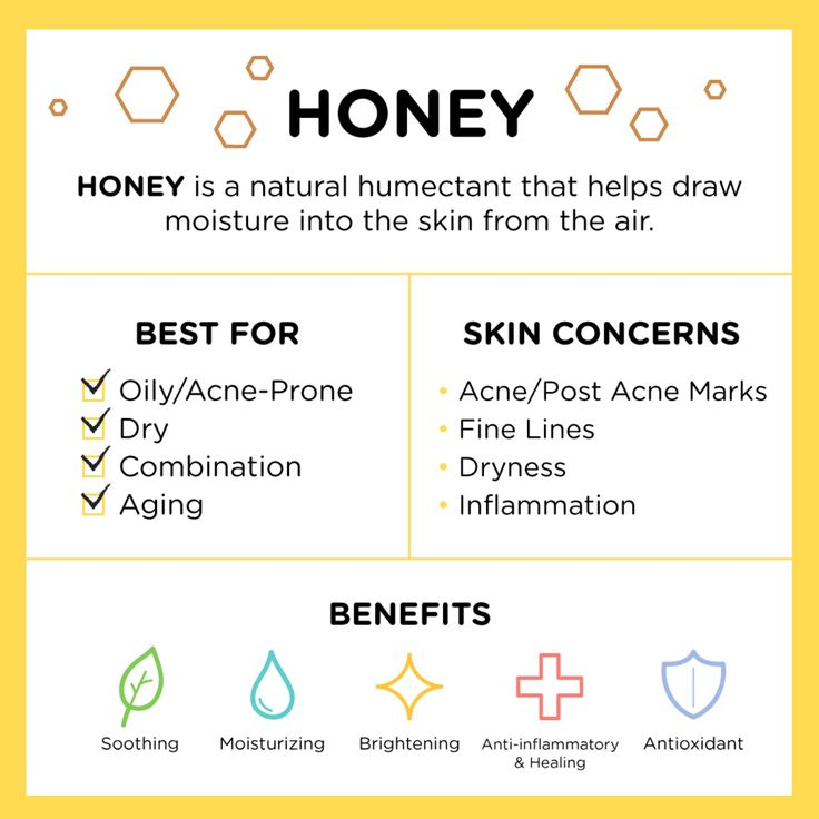 Honey is common in many skin care products. While it is yummy and sweet to consume, it is also super beneficial and nutritious for your skin.