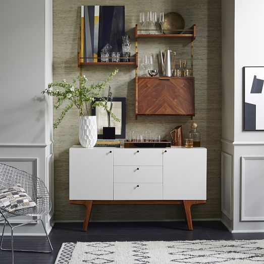 Organizational Home Decor From the Interior Design Discovery Community at www.DecoandBloom.com