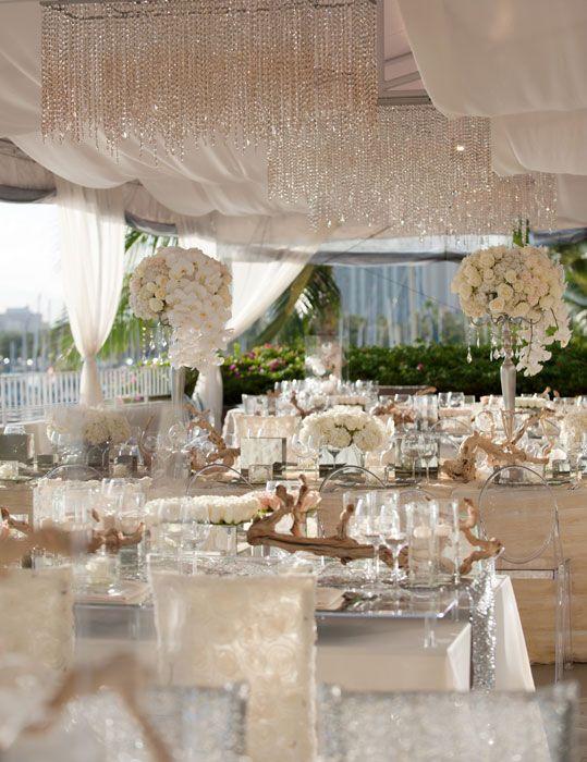 Wedding Reception Hanging Decorations : Best bling wedding decorations ideas on