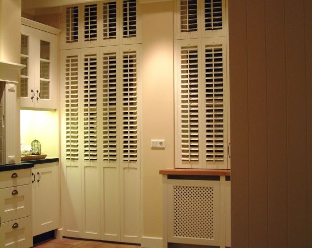 Beautiful Shutters And Wooden Blinds From JASNO Are The Ideal Window Decoration For  The Kitchen. Shutters And Wooden Blinds Guarantee Sufficient Incoming Light  But ...