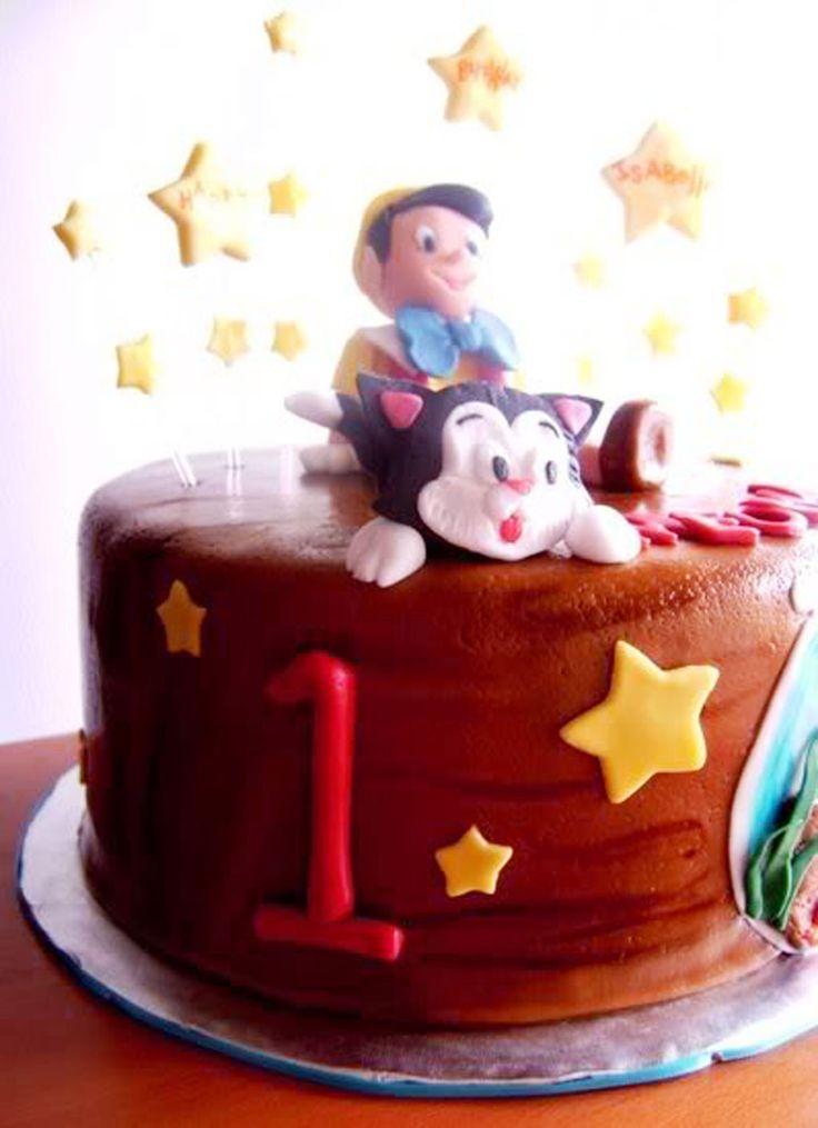 Pinocio Birthday Cake Toppers