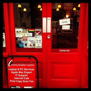 Come in and have a look .... #Welcome! #thebigreddoor #greenwich