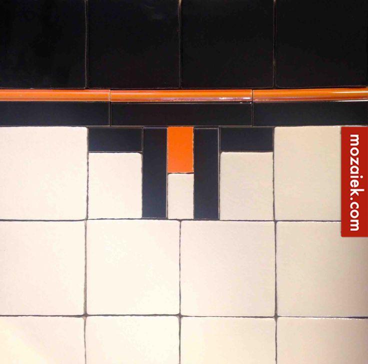mozaiek.com utrecht – Een jaren dertig huis 1920-1940 | boek van Laura Roscam Abbing | tegels naar voorbeeld in het boek verkrijgbaar bij mozaiek utrecht