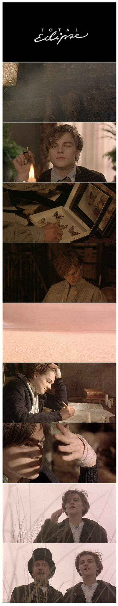 """Total Eclipse"" (1995) >> Leonardo DiCaprio & David Thewlis ... #WantToSee"