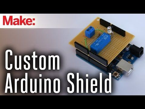 How to Make Custom Shields for a Microcontroller Board | Make: