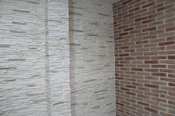 Algunas imágenes del nuevo panel Laja XL Blanco Arena | Paneldeco
