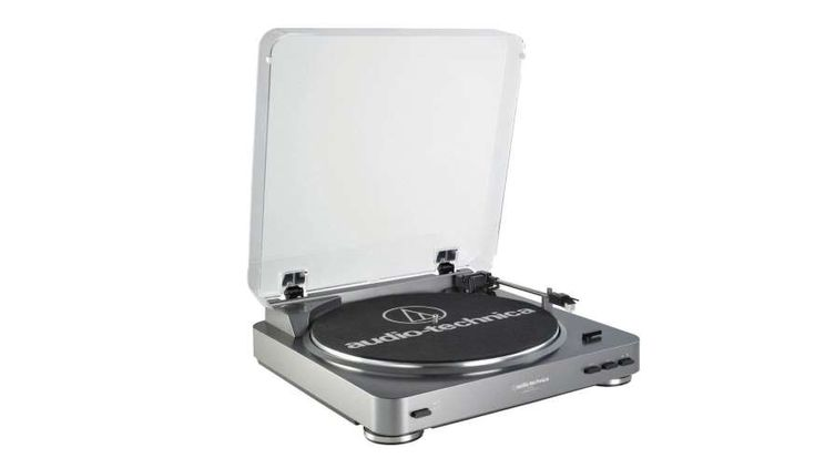 The 100 Coolest Tech Gadgets of 2017  -  October 4, 2017:  AUDIO-TECHNICA AT-LP60  - One of the best turntables around, the Audio-Technica AT-LP60 is available in variants with analog or digital output. A version with the latter will cost you an extra $30. The record player has a belt drive for better sound quality, line and phone outputs, and a fully automatic operation. It's an excellent entry into the surprisingly vast realm of vinyl record players.