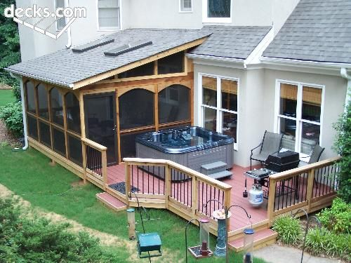 Covered Porch Construction