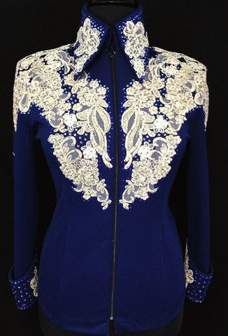 Navy & Ivory ~ Showmanship Outfit