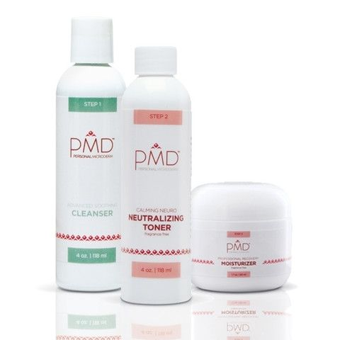 PMD Daily Cell Regeneration System is a complete skin care regimen designed to enhance the effects of the PMD Personal Microderm Device. It includes full sizes of the following products:  The PMD Advanced Soothing Cleanser  The PMD Calming Neuro Neutralizing Toner  The PMD Professional Recover Moisturizer #WishUponAPin