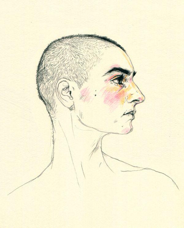 Portraits / Set 1 by Agata Marszałek