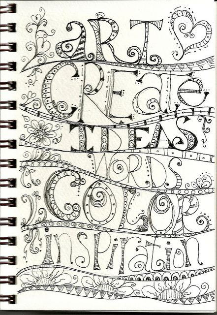 This would be a really cool quilt. Whimsy Grids lesson 5 by SharonAnn53, via Flickr