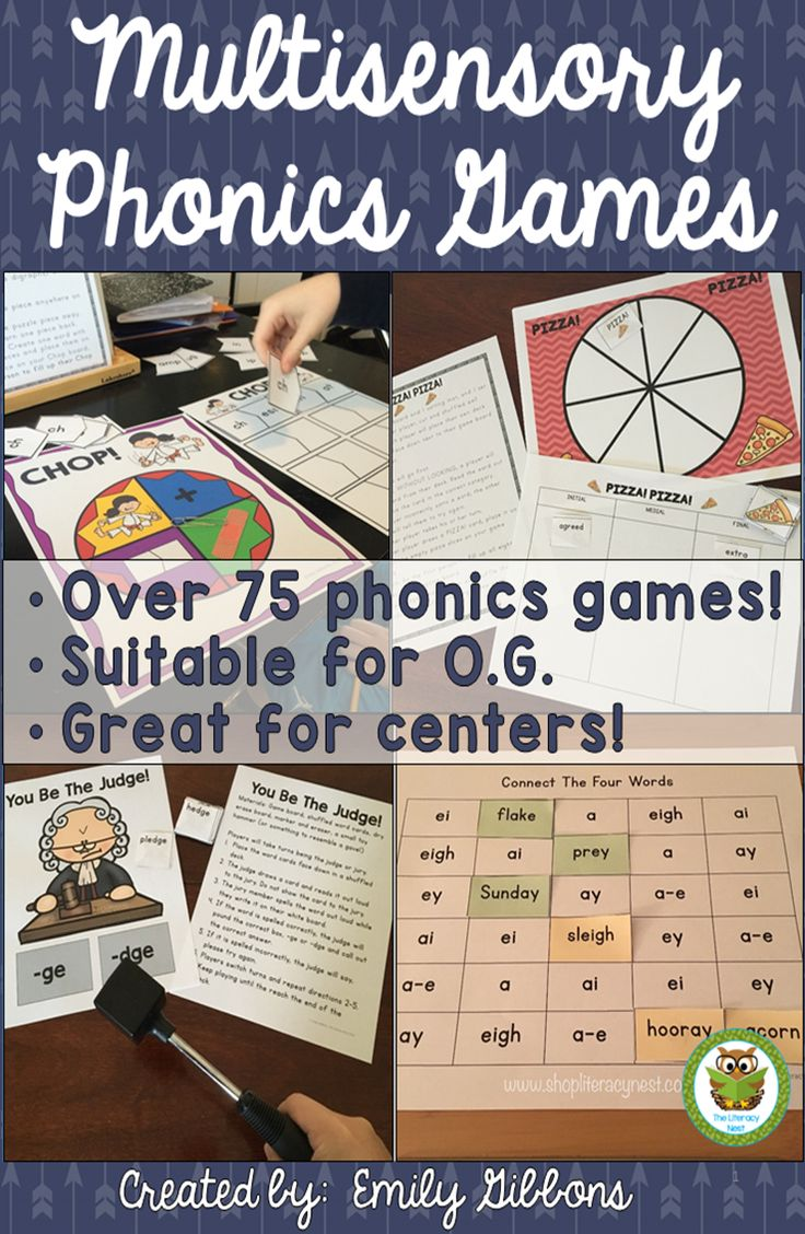 75 multisensory phonics games, suitable for Orton-Gillingham and other reading intervention programs. Every game uses a multisensory approach to practicing specific phonics skills. Many incorporate reading, and spelling simultaneously.These games come from my best selling Complete O.G.