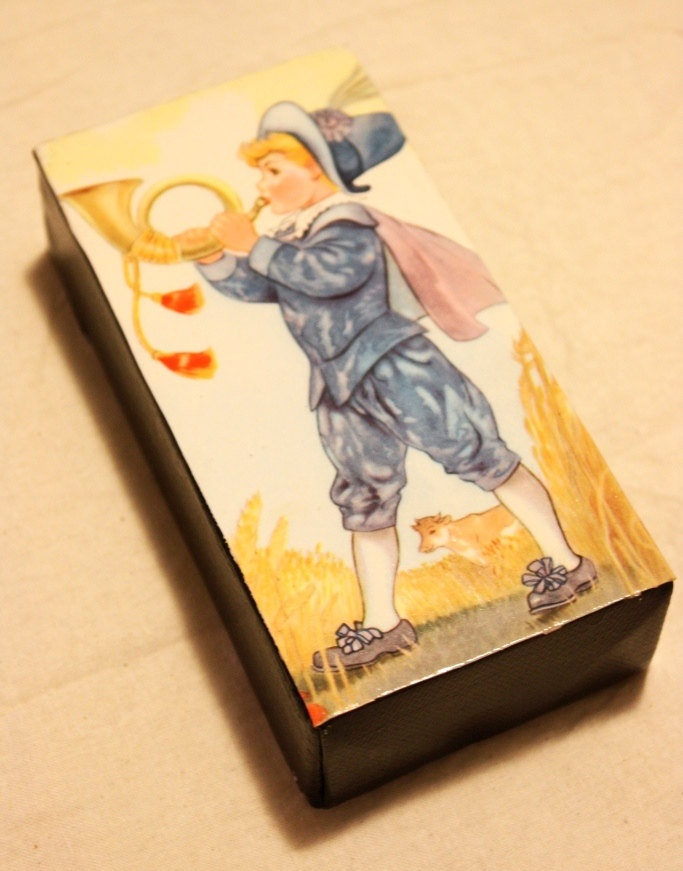 Vintage Nursery Book Canvas by meteorabycosi on Etsy, $15.00