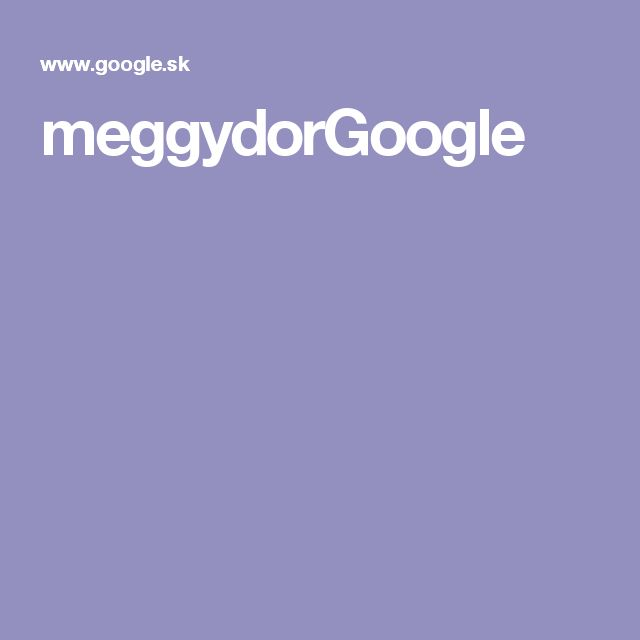meggydorGoogle