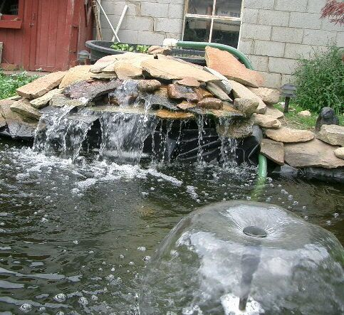 17 best images about ponds pools and plants on pinterest for Garden fountain filters