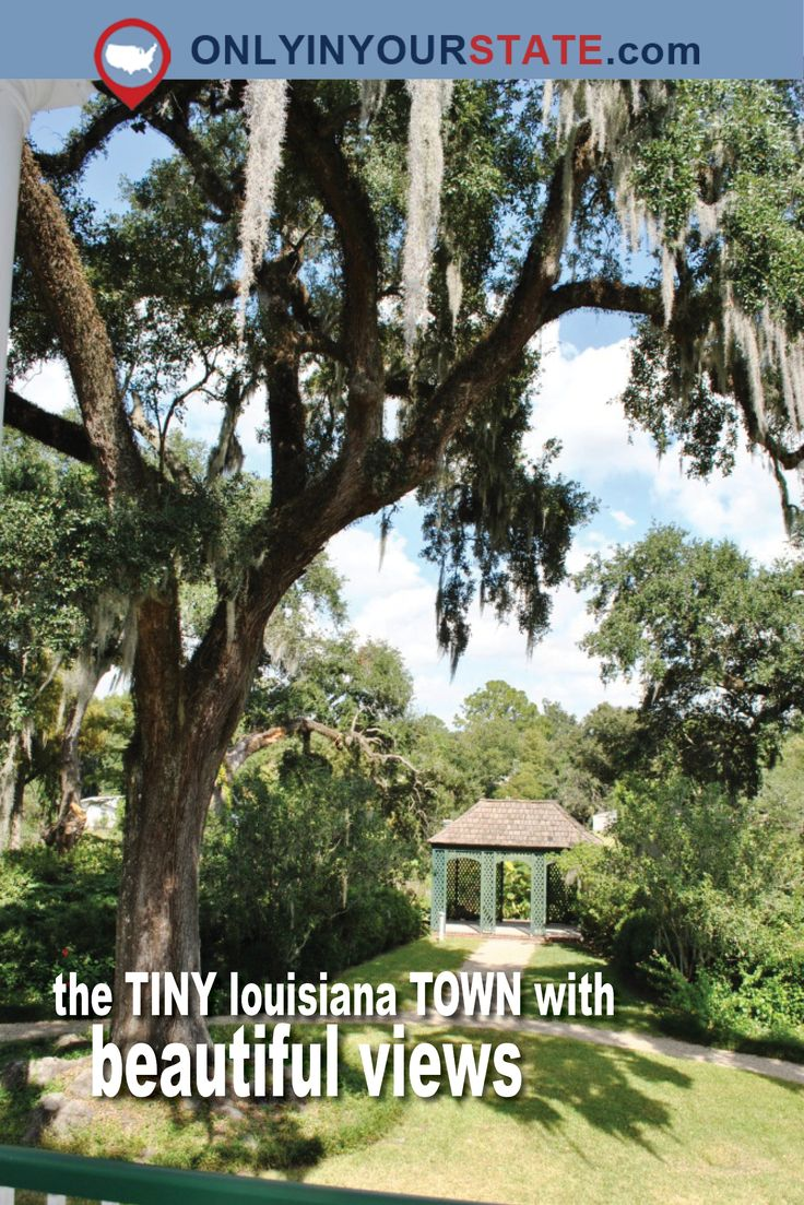 There's A Tiny Town In Louisiana Completely Surrounded By