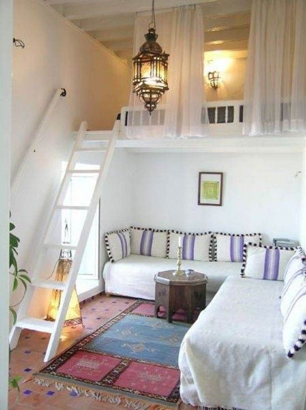 cool designs for small spaces: open up eaves and add loft