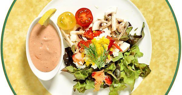 Hummersallad med Rhode Island-sås | Recept från Köket.se