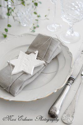 simplicity ~ table setting