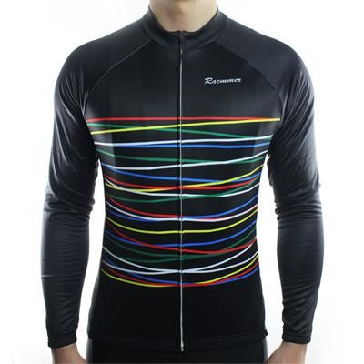 Racmmer Winter 2017 Long Pro Thermal Fleece Cycling Jersey Men Clothing Bicycle Maillot Equipacion Ciclismo Bike Clothes #ZR-08
