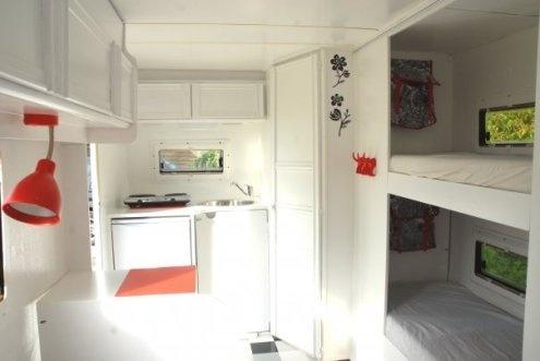 Refurbished / renovated camper