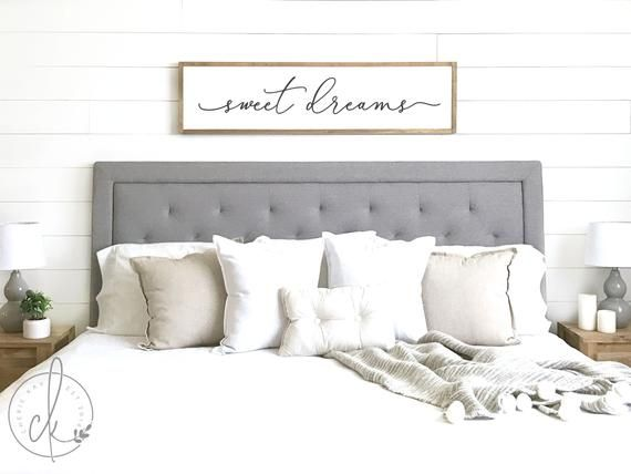 Sweet Dreams Sign Bedroom Wall Decor Master Bedroom Decor Wood Framed Sign Bedroom Wall Art Master Bedroom Sign D1 Master Bedroom Wall Decor Wall Decor Master Wall Decor Bedroom