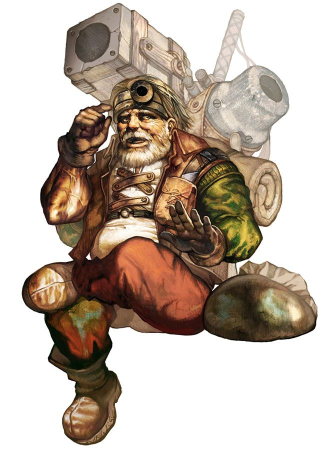 Dwarf Male from Lineage II