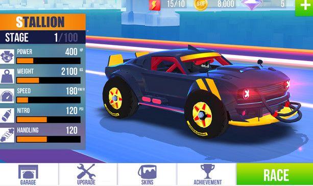 SUP multiplayer racing araba yarışı oyunu indir android ve ios mobil için online araba yarışı oyunu