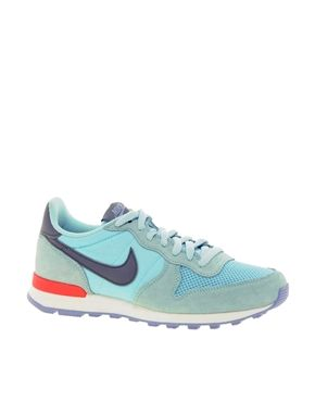 Nike Internationalist Blue Trainers ..Im kind of obsessed with sneakers!