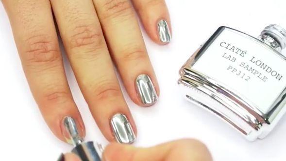 25 Best Ideas About Metallic Nail Polish On Pinterest