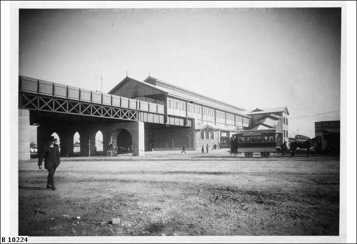 Railway Station, Commercial Road, Port Adelaide      DATE	ca.1916
