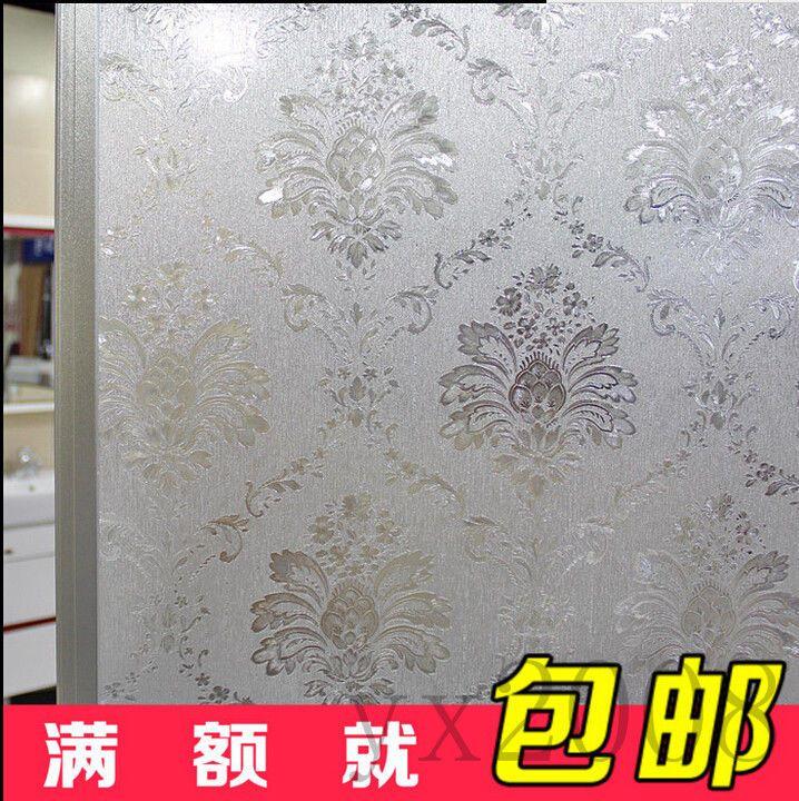 40/50/60 cm Glass Window Film Decorative Home Decor 3D Laser Static Cling Film~5