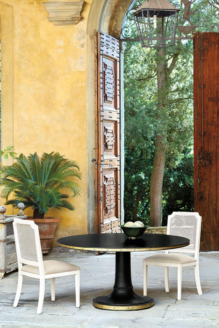 Louis cane back dining chair set of 2 ballard designs - Ballard Designs Casa Florentina Collection