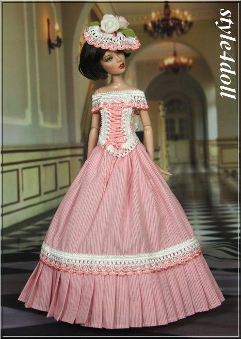 """style4doll - outfit for Deja Vu 16"""" Tonner"""