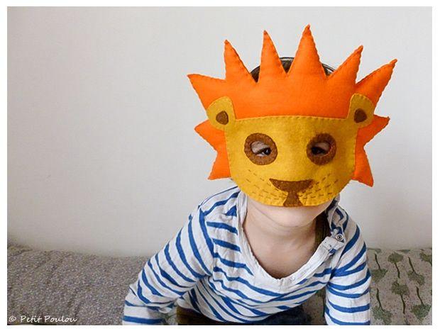 DIY Masques de carnaval - Fanny pour Petit Poulou