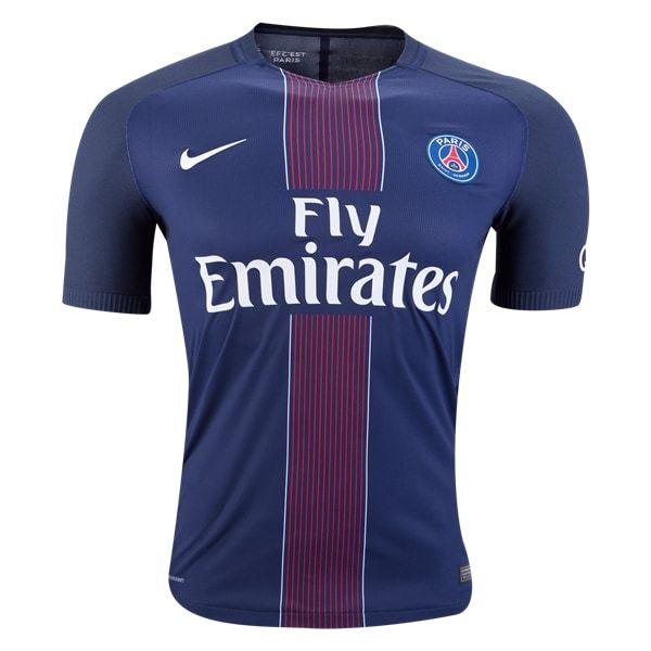 Nike Paris Saint-Germain Authentic Home Jersey 16/17