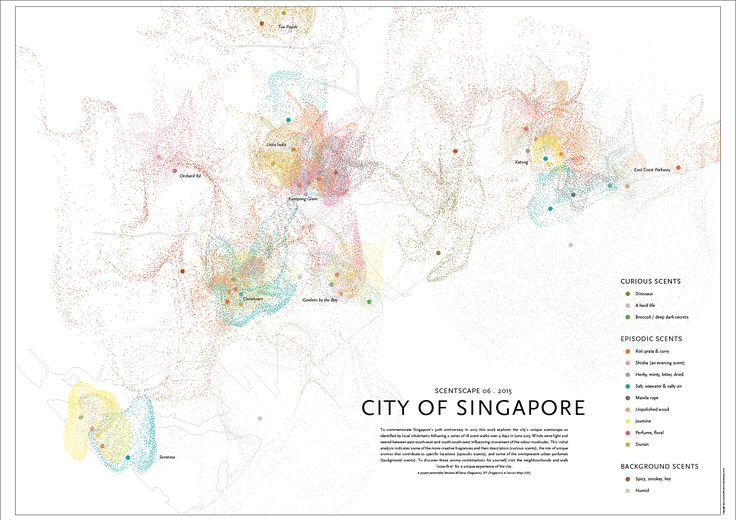 Smells of Singapore by Kate McLean