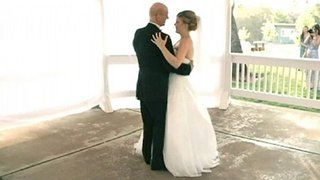 Daughter records faux #weddingdance with dying dad #FatherOfTheBride