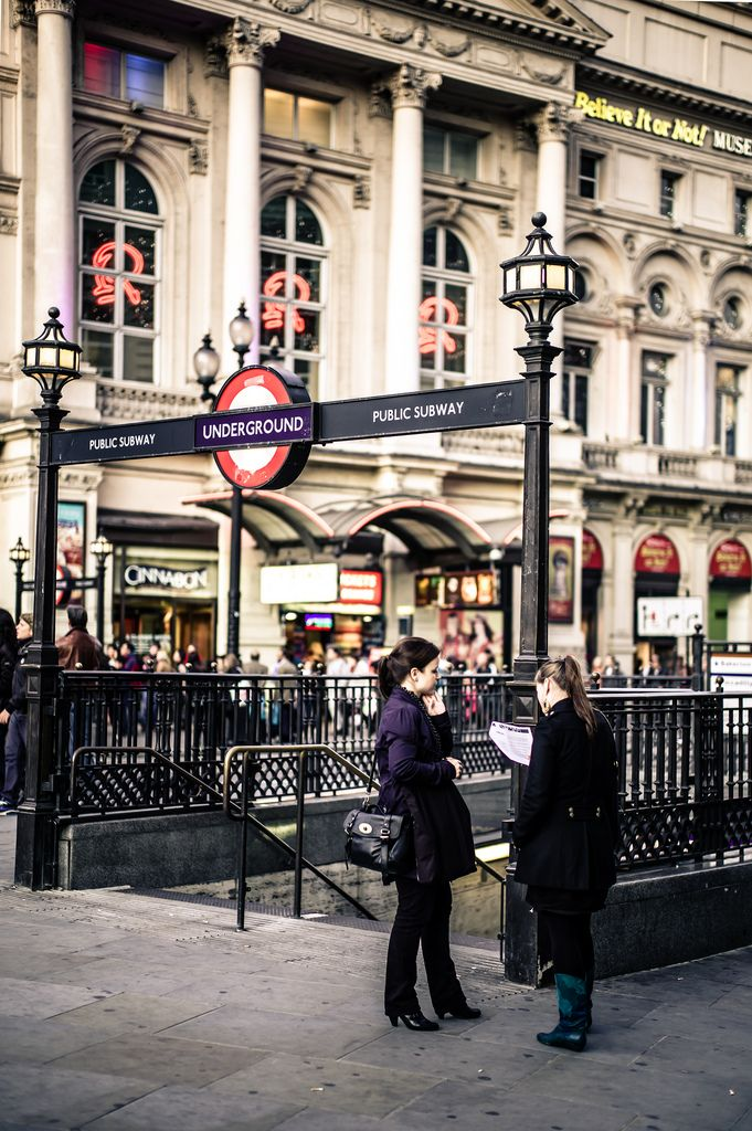 Piccadilly Circus, London, England