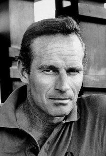 "Charlton Heston | ""I've played three presidents, three saints and two geniuses - and that's probably enough for any man."""
