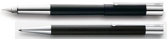 Lamy Scala Fountain Pen - stainless steel barrel makes this pen the perfect weight for a satisfying writing experience