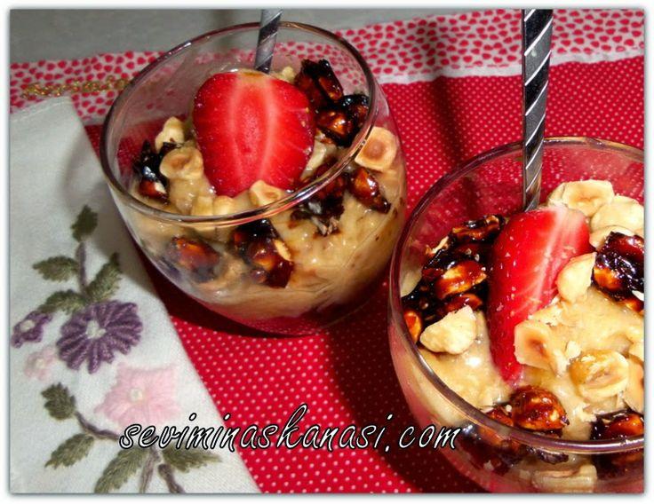 Kolay Yemek Tarifleri: Findik Ezmeli Ev Yapimi Muzlu Dondurma Tarifi