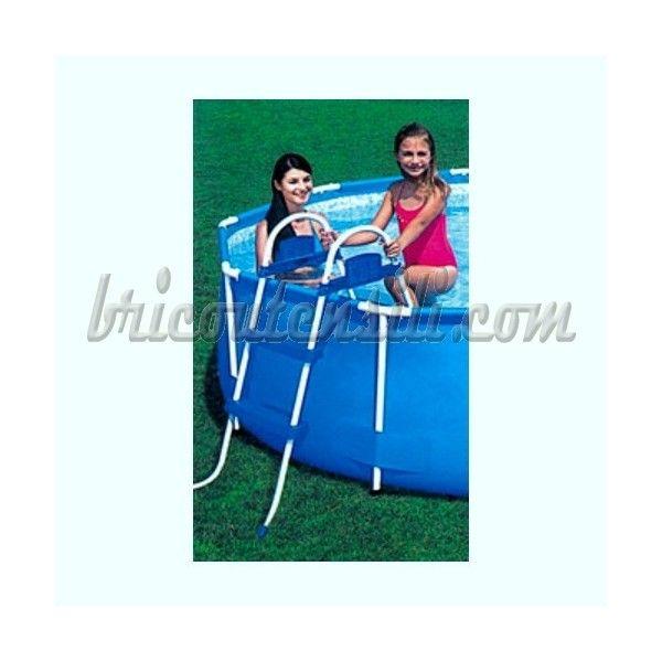 Per piscine con altezza max 76 cm