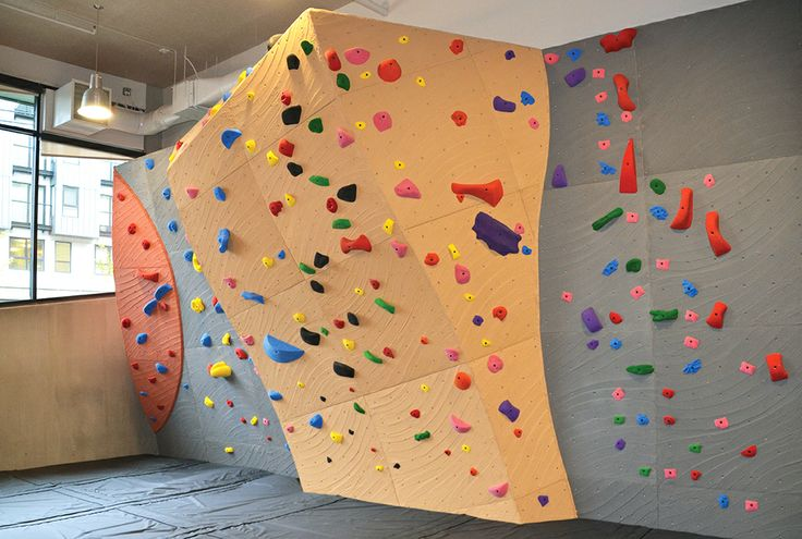 True North Apartment Complex - Seattle. Wall built by Elevate Climbing Walls
