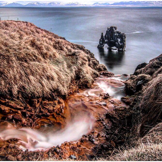 """""""Goblin Alert""""  #iceland #hvitsekur #islanda #northiceland"""