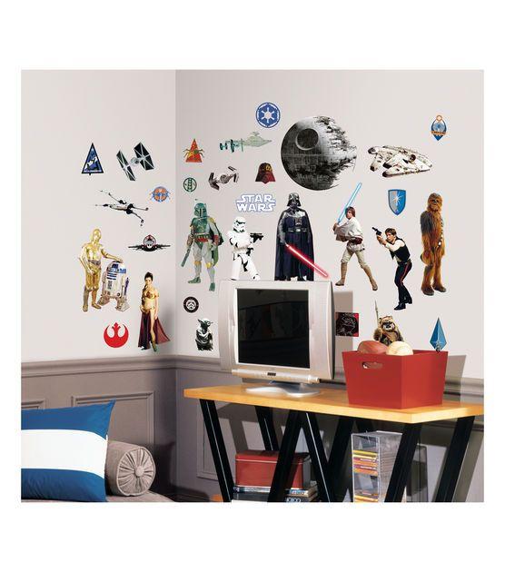 Star Wars Classic Wall Decals @ JoAnn's