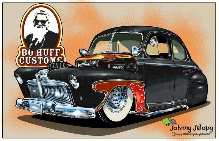 S Cartoon With Cars