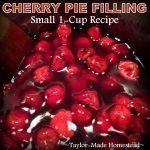 Cherry Pie Filling Recipe From Frozen or Canned Cherries